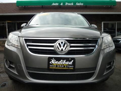 2009 Volkswagen Tiguan for sale at Sindibad Auto Sale, LLC in Englewood CO