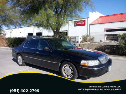 2011 Lincoln Town Car for sale at Affordable Luxury Autos LLC in San Jacinto CA