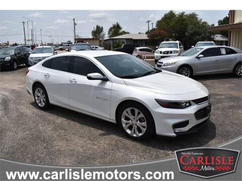 2017 Chevrolet Malibu for sale at Carlisle Motors in Lubbock TX