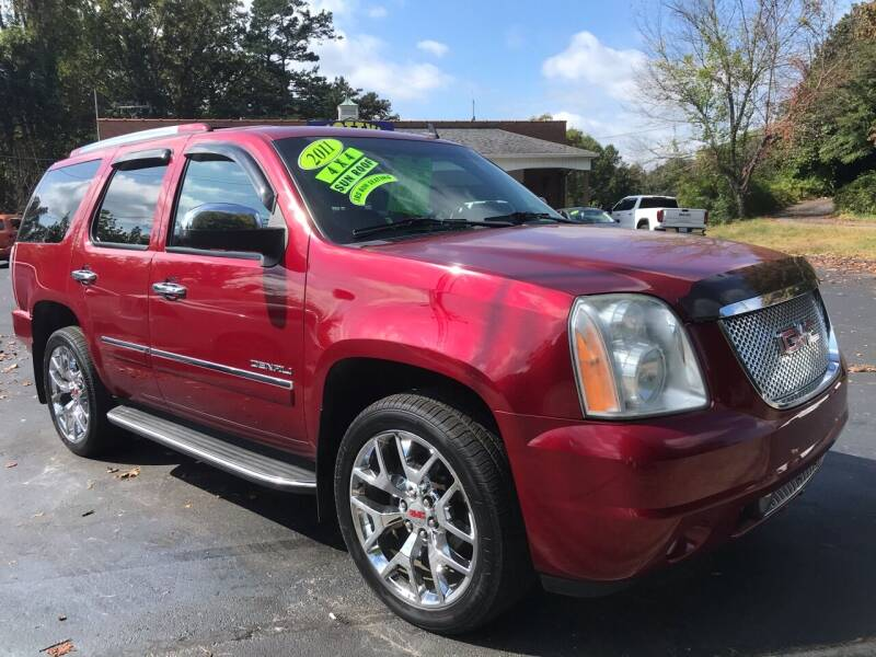 2011 GMC Yukon for sale at Scotty's Auto Sales, Inc. in Elkin NC