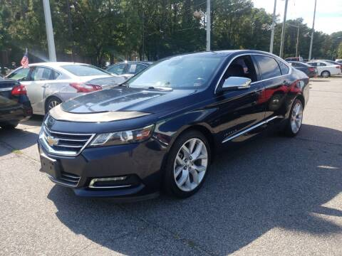 2016 Chevrolet Impala for sale at Auto 757 in Norfolk VA