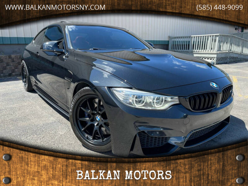 2017 BMW M4 for sale at BALKAN MOTORS in East Rochester NY