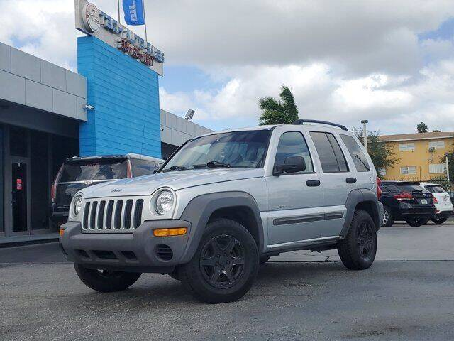 2003 Jeep Liberty for sale at Tech Auto Sales in Hialeah FL