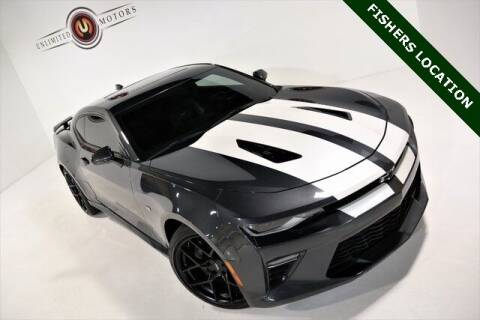2017 Chevrolet Camaro for sale at Unlimited Motors in Fishers IN