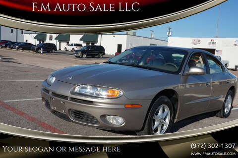 2001 Oldsmobile Aurora for sale at F.M Auto Sale LLC in Dallas TX