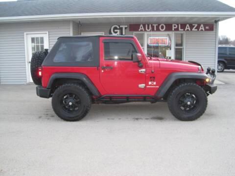 2007 Jeep Wrangler for sale at G T AUTO PLAZA Inc in Pearl City IL
