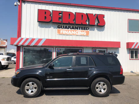 2008 Toyota 4Runner for sale at Berry's Cherries Auto in Billings MT