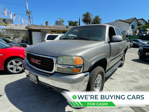 2003 GMC Yukon XL for sale at Good Vibes Auto Sales in North Hollywood CA