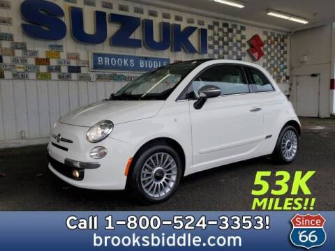 2013 FIAT 500c for sale at BROOKS BIDDLE AUTOMOTIVE in Bothell WA