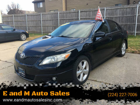 2010 Toyota Camry for sale at E and M Auto Sales in East Dundee IL