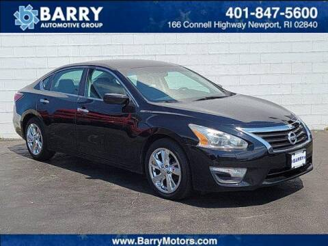2014 Nissan Altima for sale at BARRYS Auto Group Inc in Newport RI