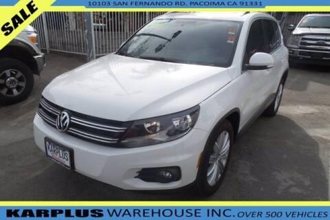2013 Volkswagen Tiguan for sale at Karplus Warehouse in Pacoima CA