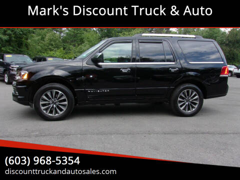 2016 Lincoln Navigator for sale at Mark's Discount Truck & Auto in Londonderry NH