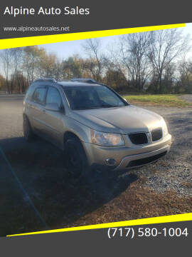 2007 Pontiac Torrent for sale at Alpine Auto Sales in Carlisle PA