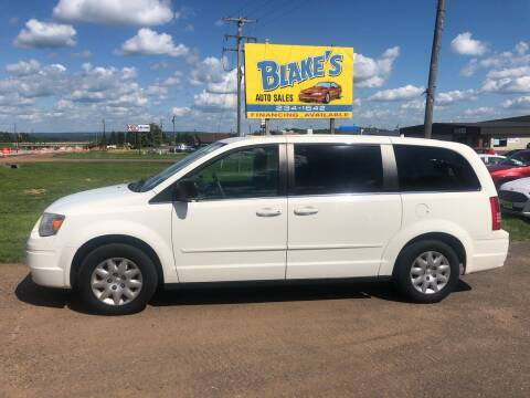 2009 Chrysler Town and Country for sale at Blakes Auto Sales in Rice Lake WI