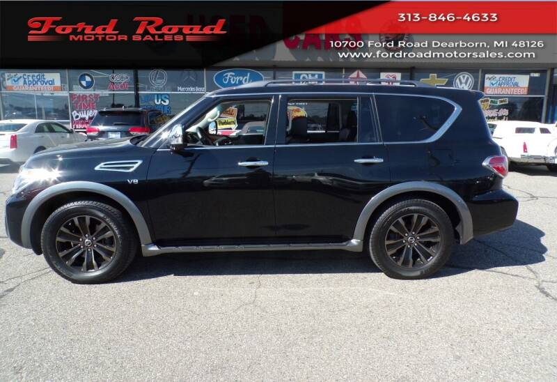 2017 Nissan Armada for sale at Ford Road Motor Sales in Dearborn MI