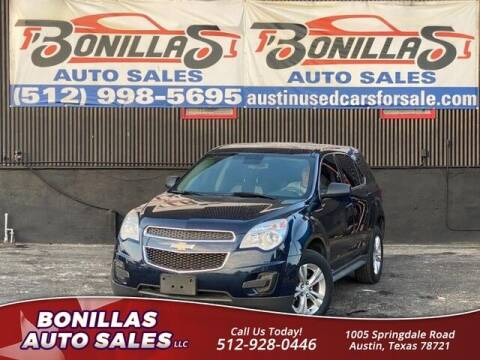 2015 Chevrolet Equinox for sale at Bonillas Auto Sales in Austin TX