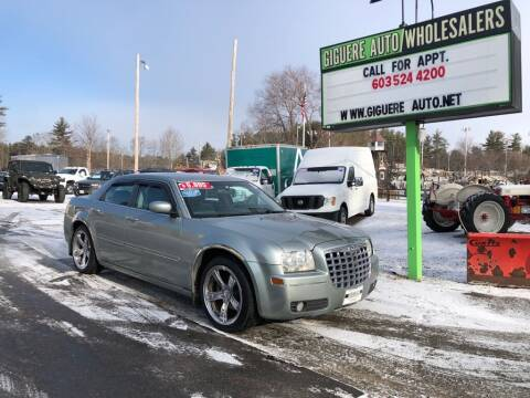2005 Chrysler 300 for sale at Giguere Auto Wholesalers in Tilton NH