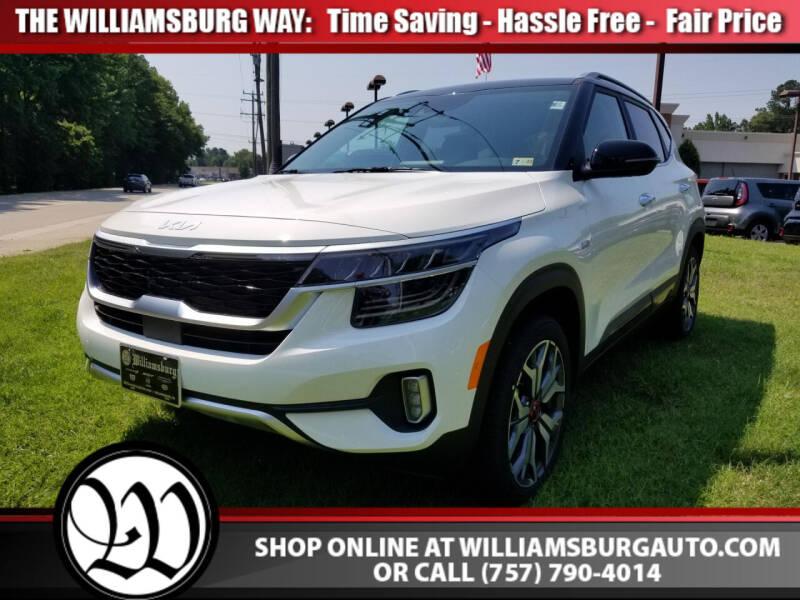 2022 Kia Seltos for sale in Williamsburg, VA