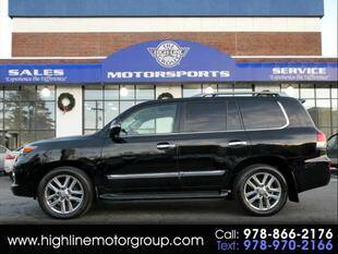 2013 Lexus LX 570 for sale at Highline Group Motorsports in Lowell MA