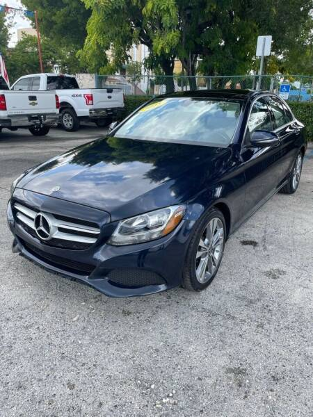 2018 Mercedes-Benz C-Class for sale in Miami, FL