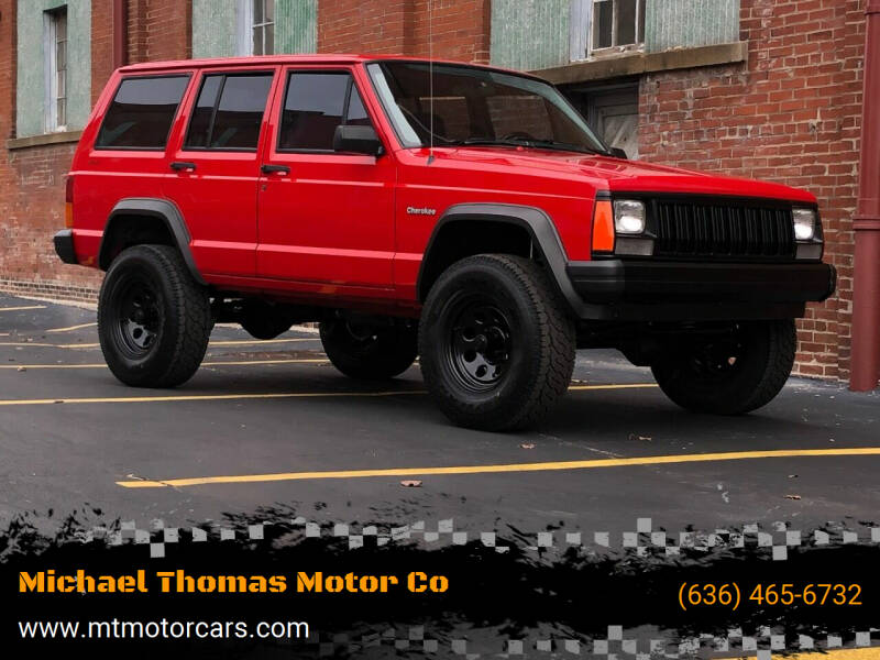 1996 Jeep Cherokee for sale at Michael Thomas Motor Co in Saint Charles MO