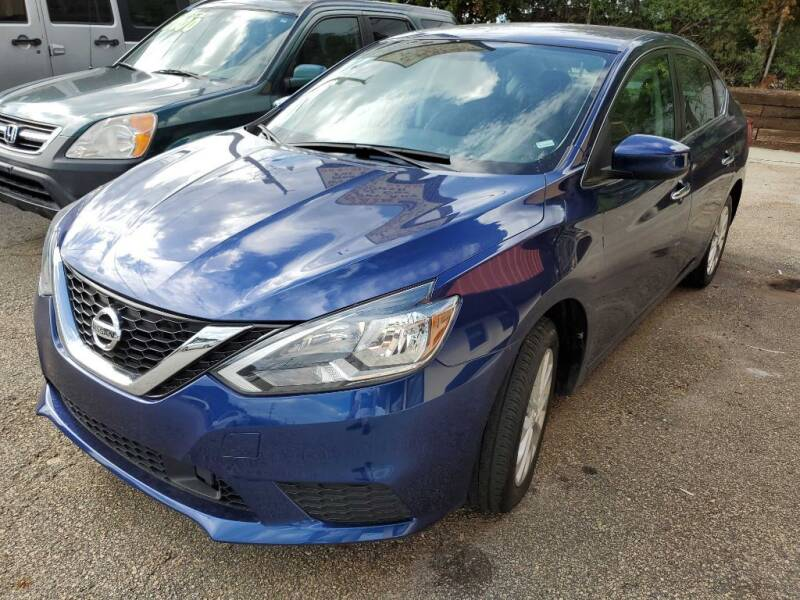 2019 Nissan Sentra for sale at THE TRAIN AUTO SALES & RENTALS in Taylors SC