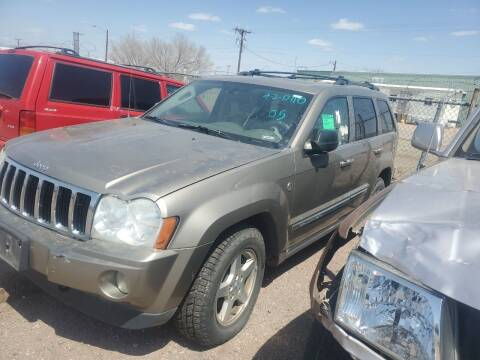 2005 Jeep Grand Cherokee for sale at PYRAMID MOTORS - Fountain Lot in Fountain CO