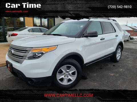 2014 Ford Explorer for sale at Car Time in Denver CO