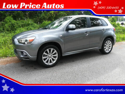 2011 Mitsubishi Outlander Sport for sale at Low Price Autos in Beaumont TX
