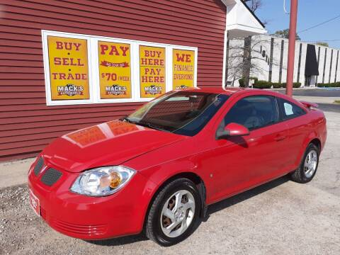 2008 Pontiac G5 for sale at Mack's Autoworld in Toledo OH