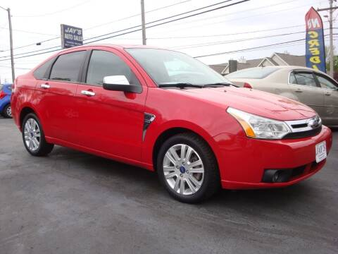 2008 Ford Focus for sale at Jay's Auto Sales Inc in Wadsworth OH