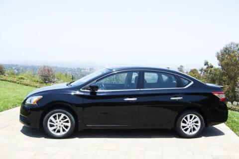 2015 Nissan Sentra for sale at Auto Whiz in Rancho Palos Verdes CA