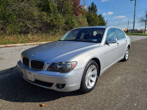 2006 BMW 7 Series for sale at Premium Auto Outlet Inc in Sewell NJ