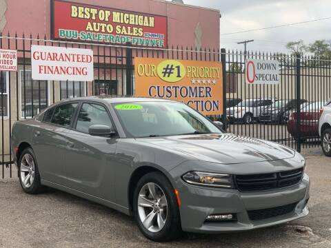 2018 Dodge Charger for sale at Best of Michigan Auto Sales in Detroit MI