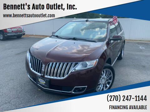 2012 Lincoln MKX for sale at Bennett's Auto Outlet, Inc. in Mayfield KY
