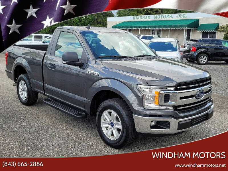 2019 Ford F-150 for sale at Windham Motors in Florence SC