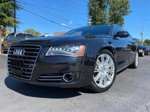 2014 Audi A8 L for sale at iDeal Auto in Raleigh NC