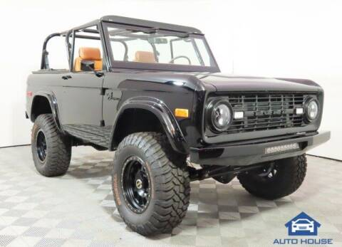 1969 Ford Bronco for sale at Curry's Cars Powered by Autohouse - Auto House Scottsdale in Scottsdale AZ