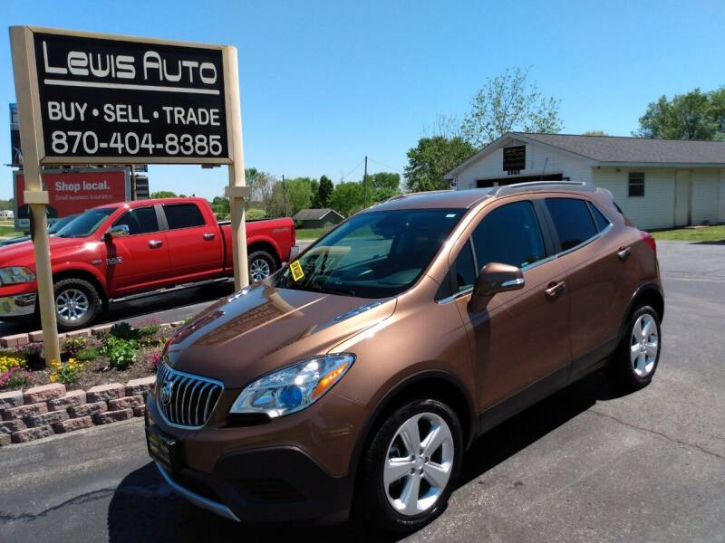 2016 Buick Encore for sale at LEWIS AUTO in Mountain Home AR