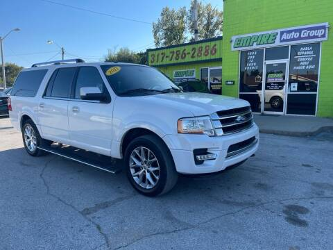 2017 Ford Expedition EL for sale at Empire Auto Group in Indianapolis IN