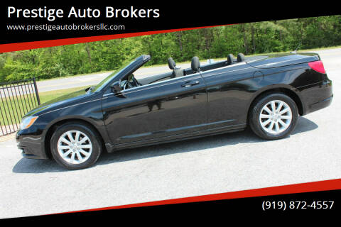 2012 Chrysler 200 Convertible for sale at Prestige Auto Brokers in Raleigh NC