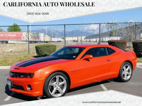 2013 Chevrolet Camaro for sale at CARLIFORNIA AUTO WHOLESALE in San Bernardino CA