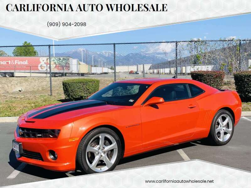 2013 Chevrolet Camaro for sale at CARLIFORNIA AUTO WHOLESALE in San Bernardino CA