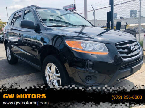 2011 Hyundai Santa Fe for sale at GW MOTORS in Newark NJ