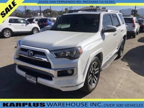 2016 Toyota 4Runner for sale at Karplus Warehouse in Pacoima CA
