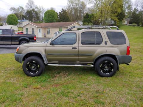 2001 Nissan Xterra for sale at K & P Used Cars, Inc. in Philadelphia TN