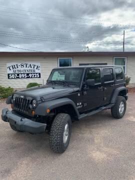 2007 Jeep Wrangler Unlimited for sale at Tri State Auto Center in La Crescent MN