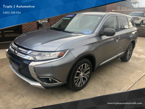 2016 Mitsubishi Outlander for sale at Triple J Automotive in Erwin TN