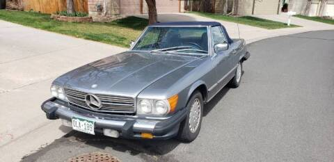 1987 Mercedes-Benz 560-Class for sale at Classic Car Deals in Cadillac MI